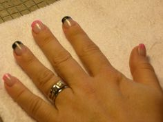 Come see why our nails receive such RAVE reviews!!  Stephanie requested this look LONG before the trend became envogue...