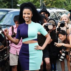 Pin for Later: Nicki Minaj's Model Dance Class Is the Best Thing We've Seen All Day