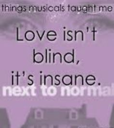 What Musicals Have Taught Me. I love Superboy and the Invisible Girl.