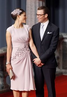Crown Princess Victoria and Daniel at their wedding rehearsal dinner / reception? #sweden