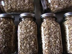 Dry Pack Canning - low moisture grains. Interesting.