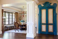 Creative Closet Door! KGA Studio Architects, PC. Photography by Emily Minton Redfield.