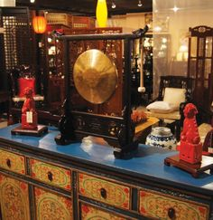 China Furniture and Arts in Westmont: featured on our Shopping Guide on the Website - great place for ethnic and Asian oriented home decor!