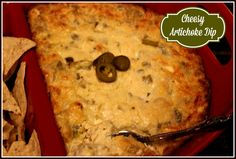 Sweet Tea and Cornbread: Hot and Cheesy Artichoke Dip!