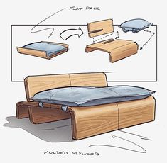 10 Chair Design Sketch And Technique Ideas Types Of Furniture, Sofa Furniture, Furniture Makeover, Modern Furniture, Furniture Design, Refurbished Furniture, Furniture Sketches, Baker Furniture, Smart Furniture