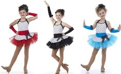 Broadway Baby Ballet Tutu Red,Black,Turquoise Tap Dance Costume Child & Adult #Cicci