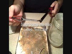 How To Solder Sterling Silver Prep - Firecoating