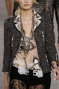 Chanel at Paris Fashion Week Spring 2006 - StyleBistro