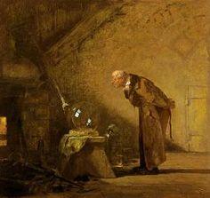 Carl Spitzweg - Der Alchimist