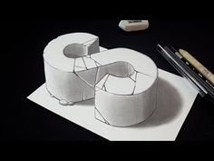 How to Draw Letter L - Drawing 3D Letter L with Pencil - Very Easy for Kids & Adults - VamosART - YouTube
