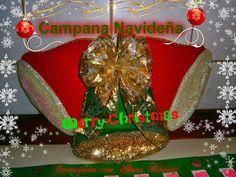 Campanas Navideñas (Fieltro) | KevAri