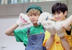 [10.09.16] Busan Fansign Event - SanHa e EunWoo