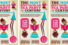 Circus Tea Party - Jag Nagra: Graphic Design for Print: Vancouver
