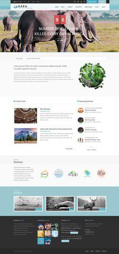 13 New Best Responsive Themes (8th Nov 2014) #inspiration #website #design