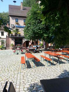 Waldschlossbrauerei Frammersbach/Bayern unser Harley Treff