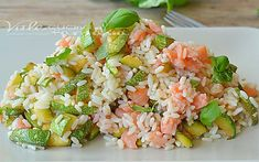 The Clean Eating Diet To Lose Weight And Feel Healthier Risotto Recipes, Salad Recipes, Healthy Recipes, Comida Latina, Slow Food, Light Recipes, Food Design, Summer Recipes, I Foods