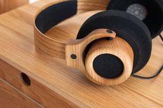 Wooden headphones Møbelsnedkerforeningen