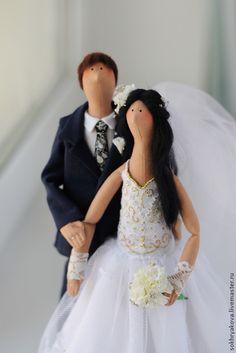 Свадебная пара в стиле Тильда. Handmade.