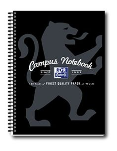 Oxford Campus A4 Notebook - Black (Pack of 5) Oxford Campus http://www.amazon.co.uk/dp/B00IGWXYM0/ref=cm_sw_r_pi_dp_cC4Svb142WCPY