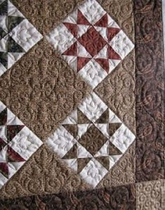 Old Quilts, Star Quilts, Mini Quilts, Quilt Blocks, Star Blocks, Easy Quilts, Quilting Projects, Quilting Designs, Sewing Projects
