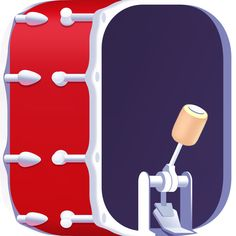 WeDrum - Drums & Music Games by Gismart Drum Pad, Dj Setup, Drum Music, Mixing Dj, Ios Icon, Music Library, Drum Kits, Music Games, Mobile Application