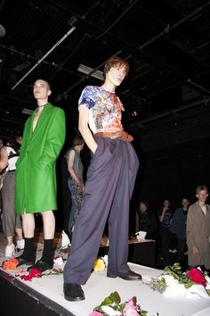Charles Jeffrey's Loverboy Collection here in the ICA's Theatre space
