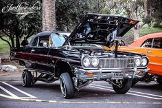 #Justlowriders #JustlowridersPhotography Chevrolet Ss, Chevrolet Impala, Chevy, Pimped Out Cars, 64 Impala, Dodge Charger, Car Show, Cars Motorcycles, Cool Cars