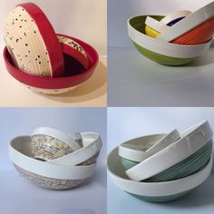 Items similar to Mixing Bowls (Set of Lead free food safe. on Etsy Mixing Bowls, Bowl Set, Safe Food, Lead Free, Dinnerware, Serving Bowls, Decorative Bowls, Trending Outfits, Choices
