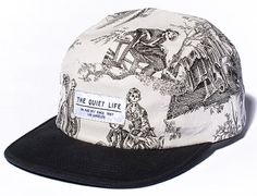 Toile 5 Panel Cap by THE QUIET LIFE