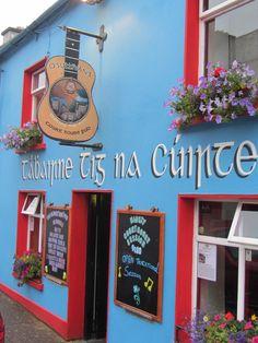 O'Sullivan's pub in Dingle, Ireland.