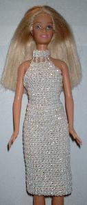 Crochet doll house furniture barbie dress ideas for 2019 Blog Crochet, Cute Crochet, Crochet Pattern, Free Pattern, Barbie Clothes Patterns, Clothing Patterns, Dress Patterns, Doll Patterns, Crochet Doll Dress