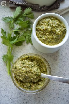 Pesto de kale (berza) y hemp o superpesto vegano (con superalimentos – superfoods) www.pizcadesabor.com