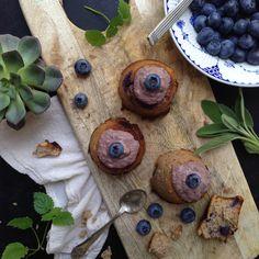 Lørdagsluxus: blåbærmuffins