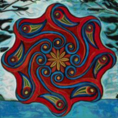 """Mandala by Carl Jung. Jung said that a mandala symbolizes """"a safe refuge of inner reconciliation and wholeness."""" It is """"a synthesis of distinctive elements in a unified scheme representing the basic nature of existence."""" Jung used the mandala for his own personal growth and wrote about his experiences."""