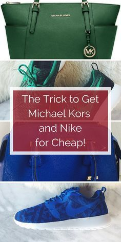 Mix and match your favorite pieces with discounted deals on top name brands. Shop Michael Kors, Nike, and thousands more at up to 70% off retail. Click to install the free app now!