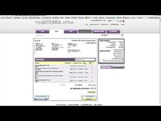 How to Order through doTERRA's Shopping Cart - YouTube