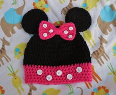 crocheted minnie