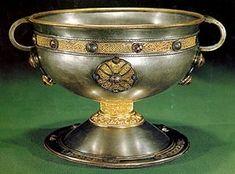 Ardagh chalice, 8th/9th century, Irish.