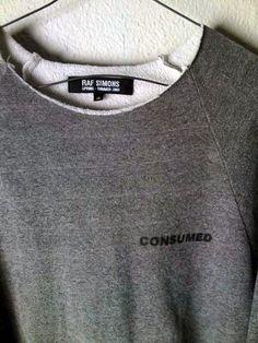 Raf Simons | SS 2003 | Consumed