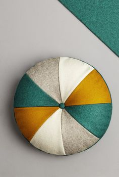 Round fabric cushion PIETRO - Missana