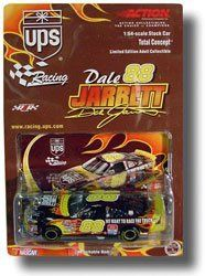 Dale Jarrett #88 UPS Ford Taurus We Want to Race the Truck Flames 1/64 Scale Diecast Car Hood Opens Action Racing Collectables 2001 Limited Edition by Action Racing. $24.99. Dale Jarrett #88 UPS Ford Taurus We Want to Race the Truck Flames 1/64 Scale Diecast Car Hood Opens Action Racing Collectables 2001 Limited Edition. Dale Jarrett #88 UPS Ford Taurus We Want to Race the Truck Flames 1/64 Scale Diecast Car Hood Opens Action Racing Collectables 2001 Limited Edition