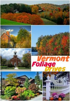 Looking for a stunning display of fall leaves this year? These spots are known for being the best Vermont foliage drives and are frequented by tourists. New England States, New England Travel, Camping Places, Places To Travel, Travel Destinations, Le Vermont, Vermont In The Fall, The Places Youll Go, Places To Go