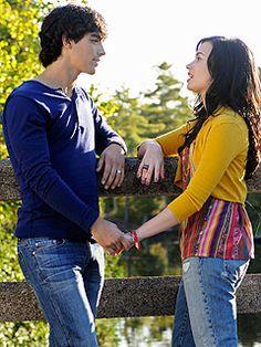 Joe Jonas & Demi Lovato Up the Romance in Camp Rock 2 - Camp Rock ...