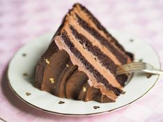 Silkinpehmeä Suklaakreemi (täyte ja kuorrutus) sopii Annin helppoon, mehevään suklaakakkuun How To Make Cake, Food To Make, Vegan Desserts, Dessert Recipes, Sweet Cakes, Healthy Treats, Let Them Eat Cake, No Bake Cake, Food Inspiration