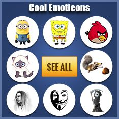 Cool Facebook Emoticons