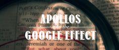 "The Biblical Christian Network: BIBLE STUDY: ""Apollos and the Google Effec"" - David Guzik"