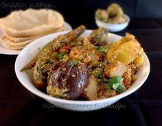 Undhiyo - Gujarati mixed veg