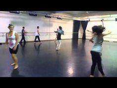 Jazz Dance Class Across the Floor Exercises