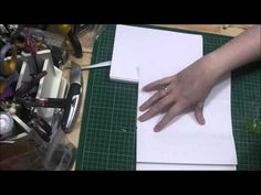 Bookbinding Tutorial Part One - Making and Preparing the Signatures