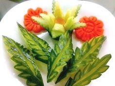 Fácil Tallado de verduras paso a paso ~ Solountip.com